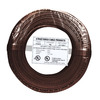 22/4 Solid Alarm Wire | 500ft Coil Pack | Brown & UL Listed & CMR Rated