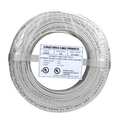 SCP: White 500ft 22/4 Solid Alarm Wire
