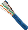 Blue CAT6A Cable CMR 1000ft Spool