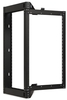 Kendall Howard 1915-3-800-18 18U Phantom Swing-Out Wall Mount Rack