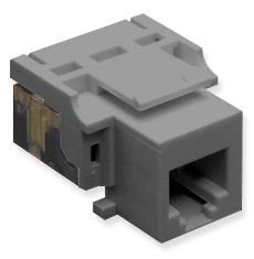 ICC Cabling Products: IC1076V0GY RJ11 Voice Keystone Jack
