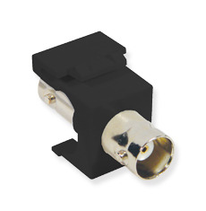 ICC Cabling Products: IC107BNCBK 75 Ohm BNC Keystone Jack