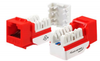 WAVENET WAV-5EKSJOR-S Orange Cat5e Keystone Jack