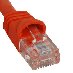 ICC Cabling Products: ICPCSK07OR Orange 7 ft Cat 6 Patch Cable