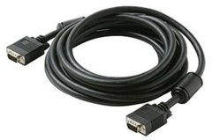 253-306BK: 6 ft Male to Male SVGA/VGA Cable