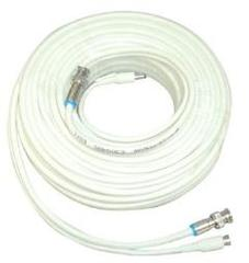 CCTV Cable: 25 ft Premade Siamese CCTV Security Camera Cable