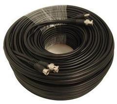 CCTV Cable: 100 ft Premade Siamese CCTV Security Camera Cable