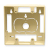 ICC Cabling Products IC107MRDIV Ivory 2 Gang Wall Plate Mounting Box