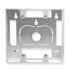 ICC Cabling Products IC107MRDWH White 2 Gang Wall Plate Mounting Box