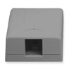 ICC Cabling Products IC107SB1GY Grey 1 Port Surface Mount Box