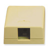ICC Cabling Products IC107SB1IV Ivory 1 Port Surface Mount Box