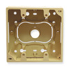 ICC ICACSMBDIV Ivory 2 Gang Junction Wall Plate Mounting Box