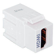 ICC Cabling Products: IC107HDMWH HDMI Keystone Jack