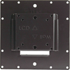 VMP FP-SFB Professional Grade Small Flat Panel Flush Mount Black