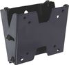 VMP FP-SFTB Small Flat Panel Flush TV Wall Mount with Tilt Black