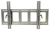 VMP PDS-LFT Large Flat Panel Flush TV Wall Mount with Tilt Silver