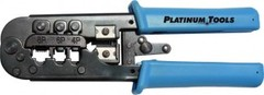 <p>Platinum Tools 12503C : All-in-One Modular Plug Crimp Tool</p>