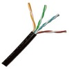 Direct Burial Outdoor Rated Cat5e Cable 350 MHz 1000ft Spool