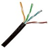 Direct Burial Outdoor Rated Gell Filled Cat5e Cable 1000ft Spool