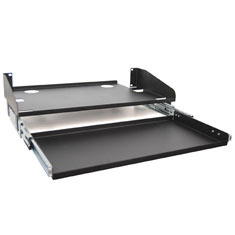 ICC Cabling Products: LCD Monitor Shelf & Keyboard Tray