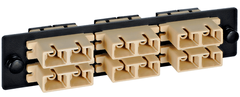 <p>ICC Cabling Products: ICFOPC16BK Adapter Panel</p>