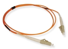 ICC: 1 Meter LC-LC Simplex 62.5 Multimode Fiber Patch Cable