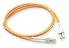 ICC: 2 Meter LC-LC Duplex 62.5 MM Fiber Patch Cable