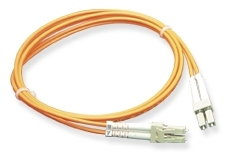 ICC: 5 Meter LC-LC Duplex 62.5 MM Fiber Patch Cable