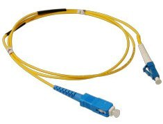 ICC: 7 Meter LC-SC Simplex Single Mode Fiber Patch Cable