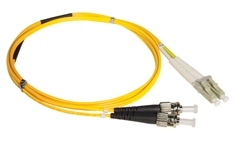 ICC: 7 Meter LC-ST Duplex Single Mode Fiber Patch Cable