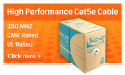 High-performance cat5e cable