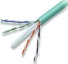 Cabling Plus: CMR Rated 550 MHz Green Cat 6 Cable