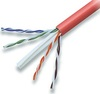 Cabling Plus: CMR Rated 550 MHz Red Cat 6 Cable