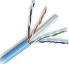 Cabling Plus: Blue CMP Rated 550 MHz Cat 6 Cable