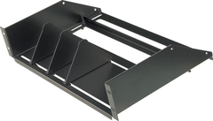 VMP: ER-8RSA Adjustable 8 Receiver Audio Video Rack Shelf