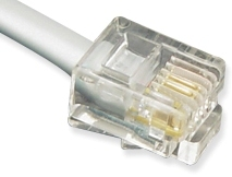 ICC Cabling Products: 25 ft 6P6C Telephone Cable