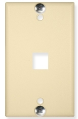 ICC Cabling Products: IC107FFWIV Phone Wall Plate