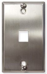 ICC Cabling Products: IC107FFWSS Phone Wall Plate