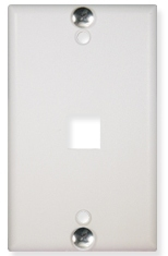 ICC Cabling Products: IC107FFWWH Phone Wall Plate