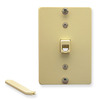 ICC Cabling Products: Ivory 6P6C Telephone Wall Plate