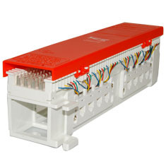 ICC Cabling Products: IC06628P8C 50 Pair Pre-Terminated 66 Block