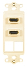 ICC Cabling Products: IC107DDHAL Dual HDMI Decora Insert