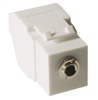 ICC Cabling Products: IC107SAPWH 3.5 mm Keystone Jack
