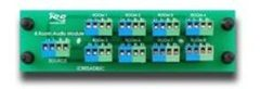 ICC Cabling Products: ICRESAD83C 8 Room Audio Module