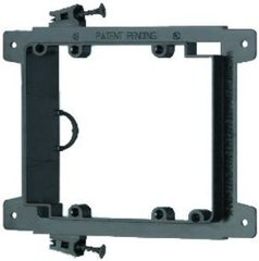 Arlington: LVS2 2 Gang Low Voltage Mounting Bracket