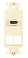 ICC Cabling Products: IC107DH2AL Almond HDMI Decora Insert