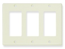 ICC Cabling Products: 3 Gang Decora Faceplate