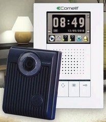 Comelit Hfx 700r Color Video Intercom Kit With Memory And