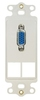 ICC Cabling Products: IC107DR2WH VGA Decora Insert