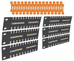 "Climatronix: 100103 6"" Straight Stubby Bracket Rack Pack"